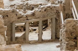 Santorini - vykopávky Akrotiri